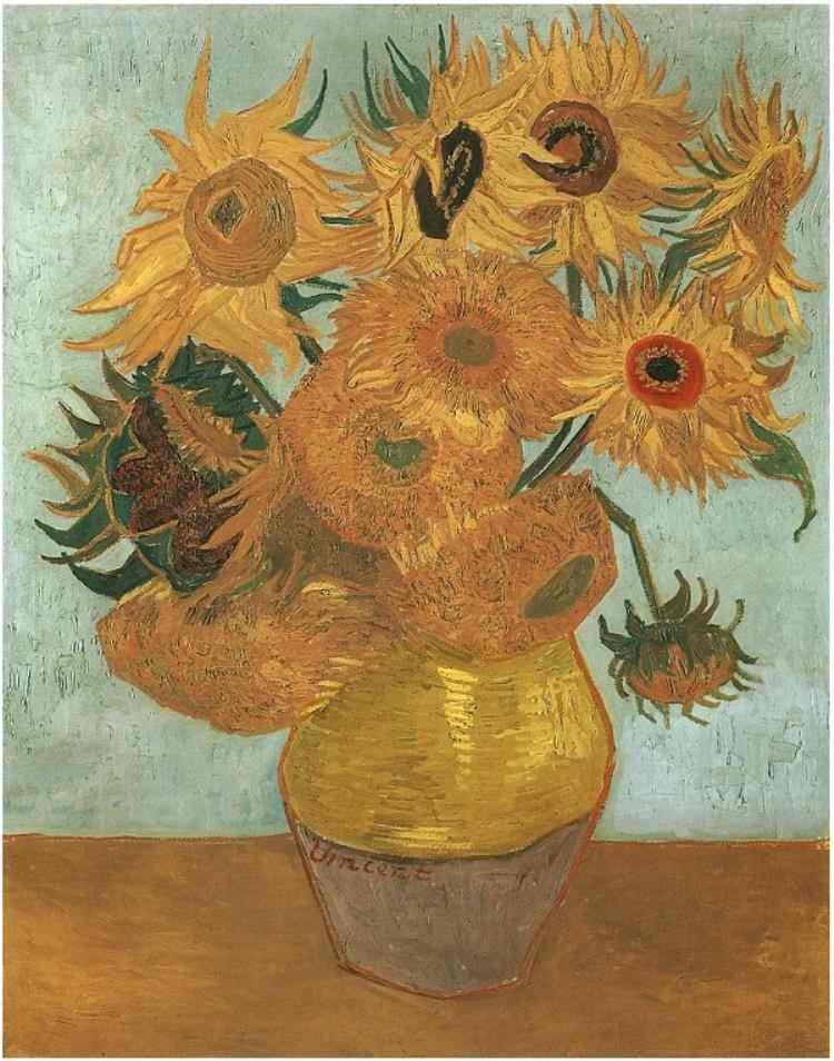 till-Life--Vase-with-Twelve-Sunflowers