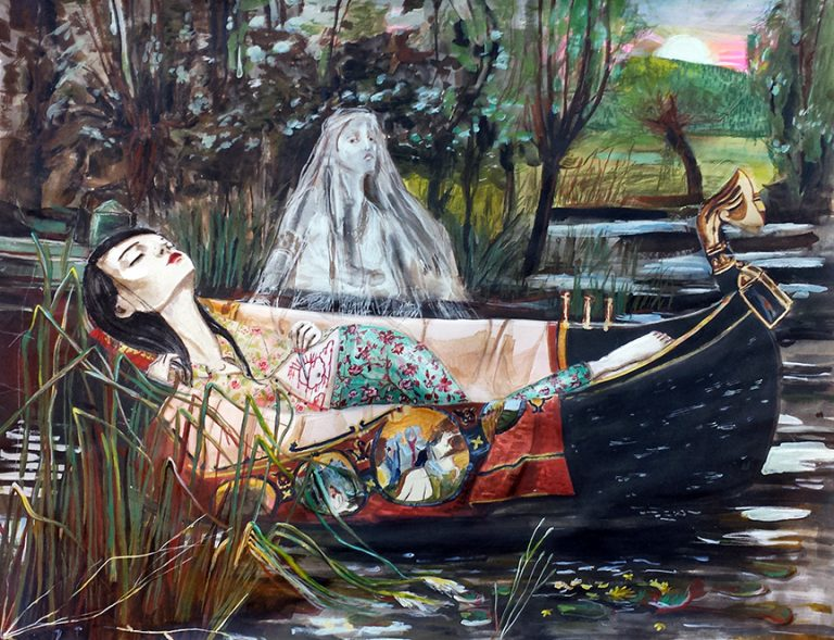 Claire Stigliani -The Lady Of Shalott