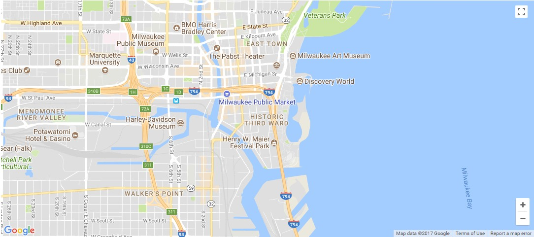 Milwaukee Map